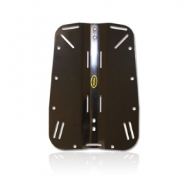 Ref: OX OWB-02-02 - Backplate Anodized Aluminium Black
