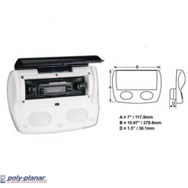 Stereo Enclosure with Speakers
