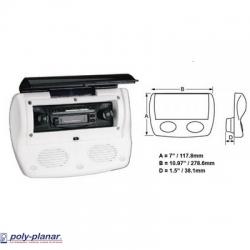 Ref: PP WC700 - Cover Radio + Integra Speakers