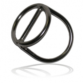 ".Ref: OX OS-01-06 - D Ring 2"" Sliding SS"