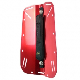 Ref: OX OWB-02-02-LR - Backplate Anodized Aluminium Powder Coated