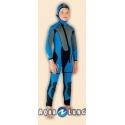 *Ref: AQF 664505 - Suit Salopette Flipper 5.5mm