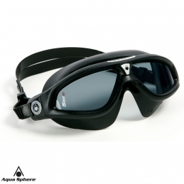 Ref: AS 169910 - Mask Seal XP Clear/Silver BLK/Lens