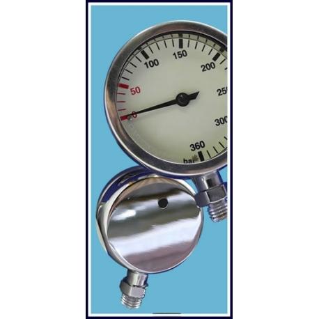 Brass Tech Pressure Gauge
