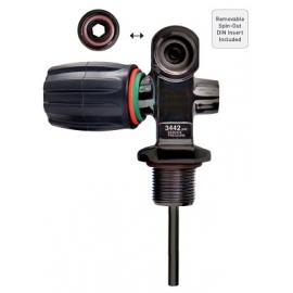 .Ref: KX VXPVD-34N-VE - Valve Mil-Spec Black PVD Din/Yoke Combo