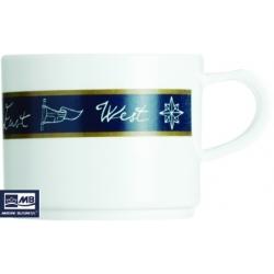 Ref: MBS 17005 - Tea Cup + Saucer