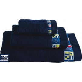 Ref: MBS 42105 - Codigo Towel 3 Pieces Navy