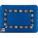 Ref: MBS 42212 - Codigo Towelling Mat Blue Azur