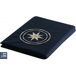 Ref: MBS 50402 - Upper Sheet & Pillow Case Single Navy