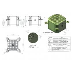 Ref: KKS SDS-0101- Standard Cubes Sunny Docks