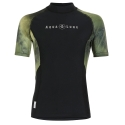 *Ref: AQF RM113 - Top Lycra short sleeve men galactic CAMO