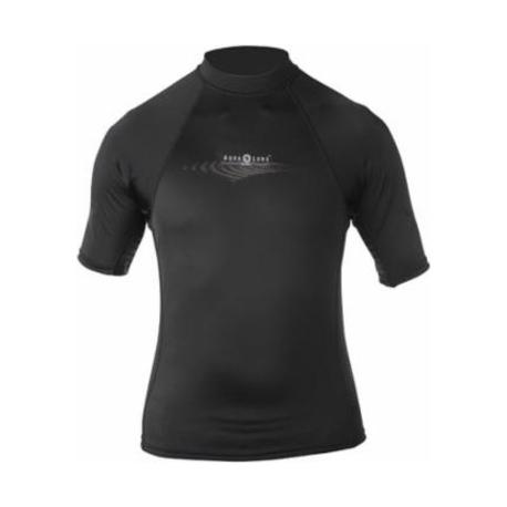 *Ref: AQF 66051 - TOP lycra black &white short sleeves