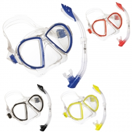 Combo Mask Duetto With Snorkel Airflex Aqualung
