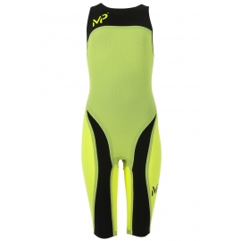 Ref: AS CW0017101-36 - swimsuit X-Presso lady tech yellow/black