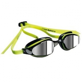Ref: AS 173520 - google K180 yellow /black mirror lens