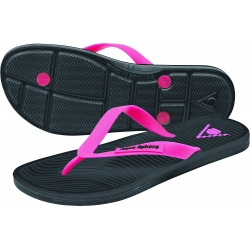 Ref: AS FW0140101- flipflop Hawaii II lady black/pink