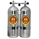 Ref: OMS S16216515 - SET TWIN ALUMINUM Cylinder 80cft