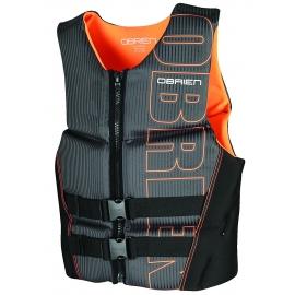 O'Brien life jacket Flex V back neoprene orange