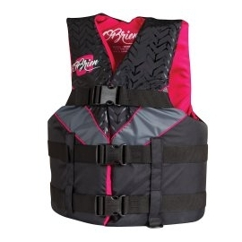 Ref: HR NL 30302 - life jacket sport red/grey 1 size fits all