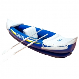Ref: AM BT-88580 - canoe inflatable Savanna 292cm with paddle