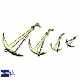 Ref: FS 2047 - Anchor Fisherman's Polish Brass