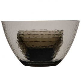 Ref: MBS 33801 - salad bowl + 4 bowls smoke