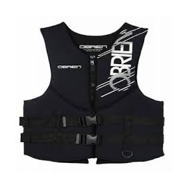O'Brien Men's Traditional Neoprene Vest (Black, Large)