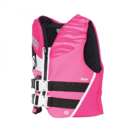O'Brien girls pink youth vest