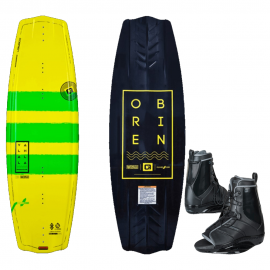 O'Brien Wakeboard Valhalla 138 MY18 (up to 95kg) +Binding Infuse 11-13