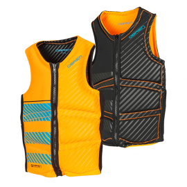 O'Brien Mens Wake NCGA Vest Black/Orange