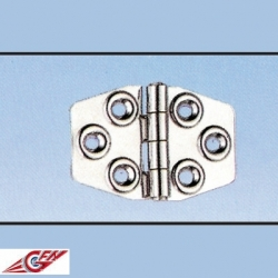 Ref: GI 143210 - Hinge Inox 68x45mm