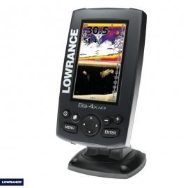 Elite 4X Sonar W/XDCR 83/200 KHZ