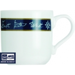 Coffee Cup + Saucer Neptuno