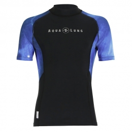 *Ref: AQF RM111 - Top Lycra short sleeve men galactic blue
