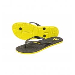 Ref: AS FM0160107- flipflop Hawaii II black/yellow
