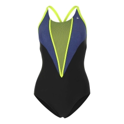 Ref: AS SW1910145- : swimsuit Cara black/chine blue